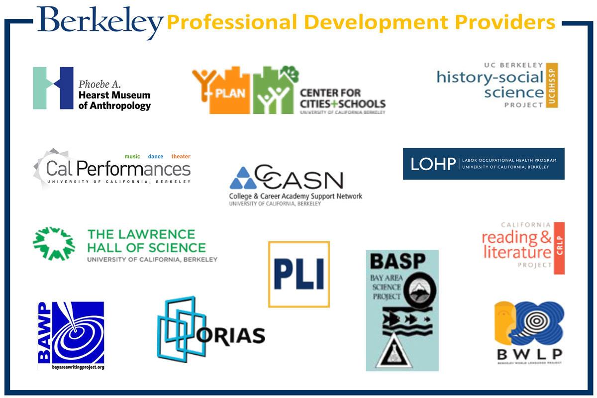 Berkeley Professional Development Providers Image