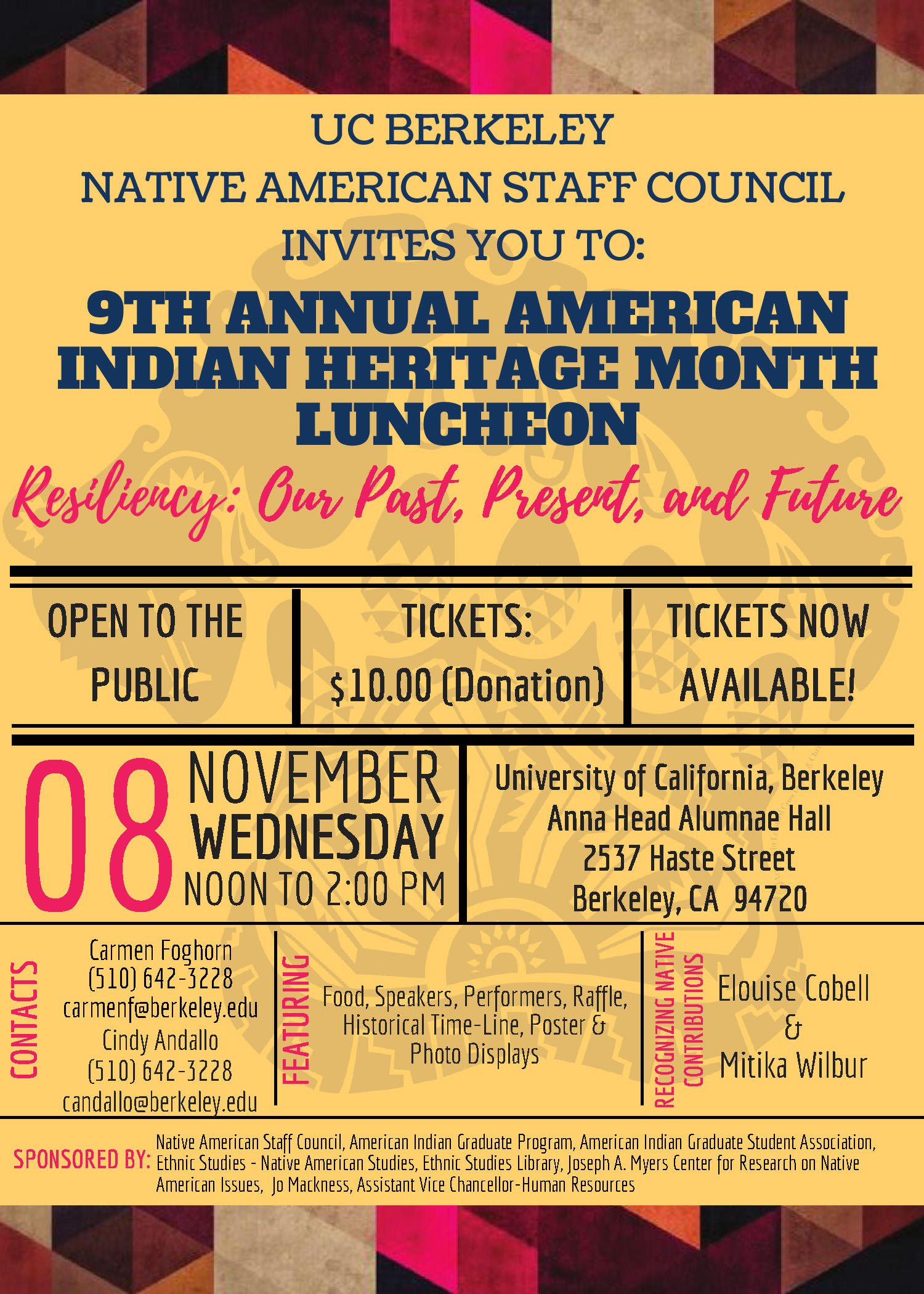 American Indian Heritage Month Luncheon